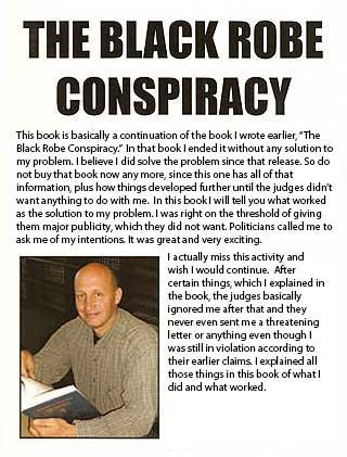Black Robe Conspiracy book